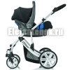 britax b-smart 4 + romer baby-safe plus