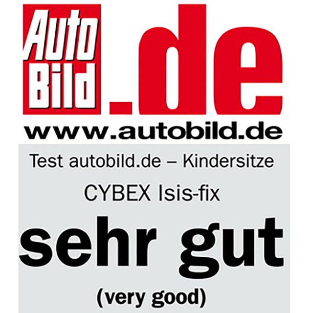 краш-тест автокресла cybex isis-fix