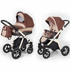 Esspero Newborn Lux 2 в 1 Brown Beige (Шасси beige)