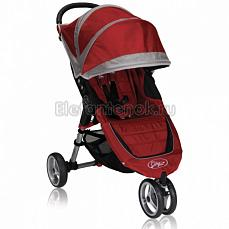 Baby Jogger City Mini Single красно-серый