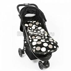 BuggySnuggle Retro Spotty Charcoal Retro Spotty Charcoal