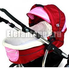 Kiddy Carrycot Sport n Move E71 red/pink