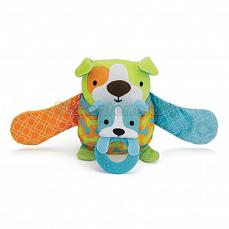 Skip Hop Hug and Hide Stroller Toy Dog