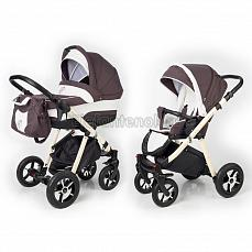 Esspero Newborn Lux 2 в 1 Brown Lux (Шасси beige)