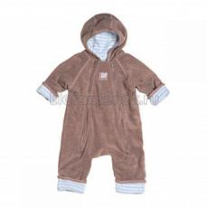 Red Castle Zip up Size2 TAUPE/Llight blue-white stripes