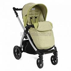 Peg-Perego Book Plus Pop Up Completo Green Tea шасси silver