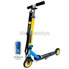 Y-SCOO Mini City RT 125 Montreal yellow+light blue