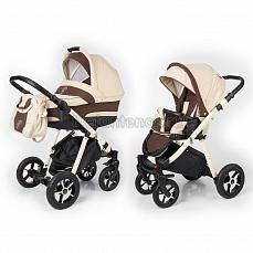 Esspero Newborn Lux 2 в 1 Beige Brown (Шасси beige)