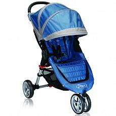 Baby Jogger City Mini Single  голубой-серый