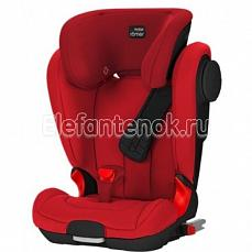 Britax Roemer Kidfix II XP SICT Black Series Flame Red Trendline