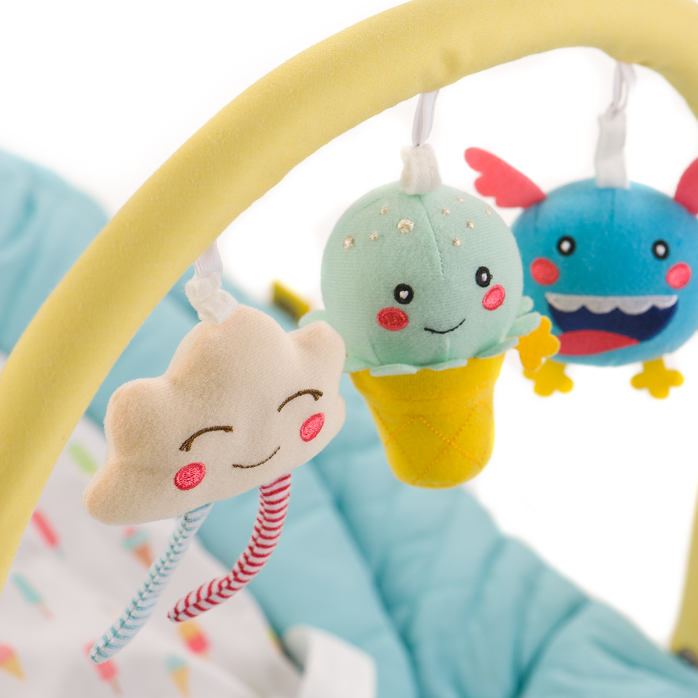 Манеж-кровать Happy Baby Martin Beige 4690624016806