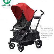 Orbit Baby Stroller G3 Black - капюшон Red