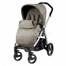 Peg-Perego Book Plus Pop Up Completo Cream шасси silver