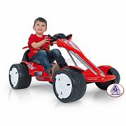 Injusa 12V GO-Kart Big Wheels