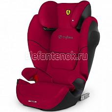 Cybex Solution M-Fix SL (сайбекс Солюшн М-Фикс ЭсЭль) FE Ferrari Racing Red