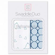 SwaddleDesigns Набор пеленок Swaddle Duo BL Big Chickies