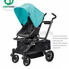 Orbit Baby Stroller G3 Black - капюшон Teal