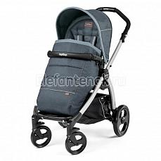 Peg-Perego Book Plus Pop Up Completo Blue Denim шасси silver