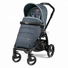 Peg-Perego Book Plus Pop Up Completo Blue Denim шасси black