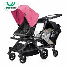 Orbit Baby G3 Growing Family (коляска для погодок) Black - капюшон Raspberry