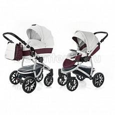 Esspero Grand Discovery 2 в 1 Maroon leatherette (шасси Grey)