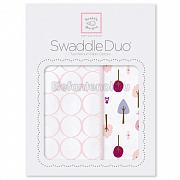 SwaddleDesigns Набор пеленок Swaddle Duo