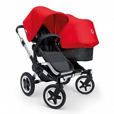 Bugaboo Donkey Duo  black\red