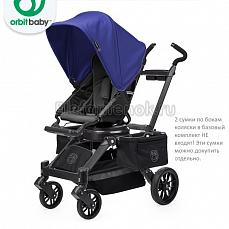 Orbit Baby Stroller G3 Black - капюшон Blueberry