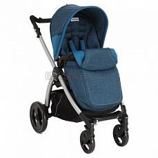 Peg-Perego Book Plus Pop Up Completo Saxony Blue шасси silver