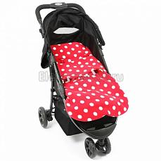 BuggySnuggle Toggles Red / White Spot Цвет не выбран