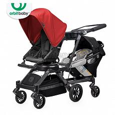 Orbit Baby G3 Growing Family (коляска для погодок) Black - капюшон Red