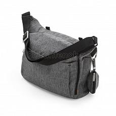 Stokke Сумка Changing Bag Black Melange