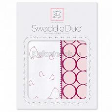 SwaddleDesigns Набор пеленок Swaddle Duo PK Big Chickies