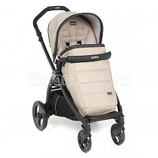 Peg-Perego Book Plus Pop Up Completo Luxe Beige шасси Black