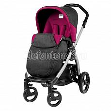 Peg-Perego Book Plus Pop Up Completo Fleur шасси silver