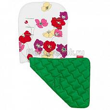 MacLaren Матрас в коляску Reversible Seat Liner open floral snow/jelly bean green ADN18122