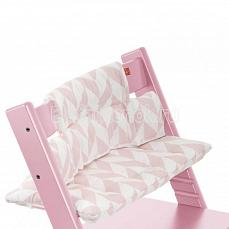 Stokke Tripp Trapp Cushion Pinnk Chevron