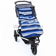 BuggySnuggle Blue Stripe Цвет не выбран